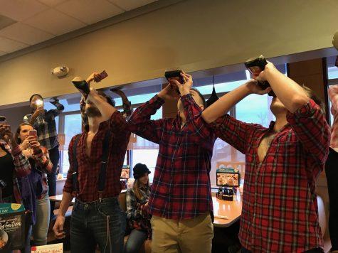 Lumberjack Friday Chugs Along