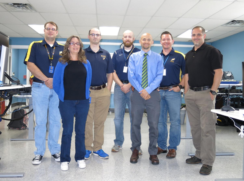FCPS Technology Team. Photo courtesy of Emily Antesberger