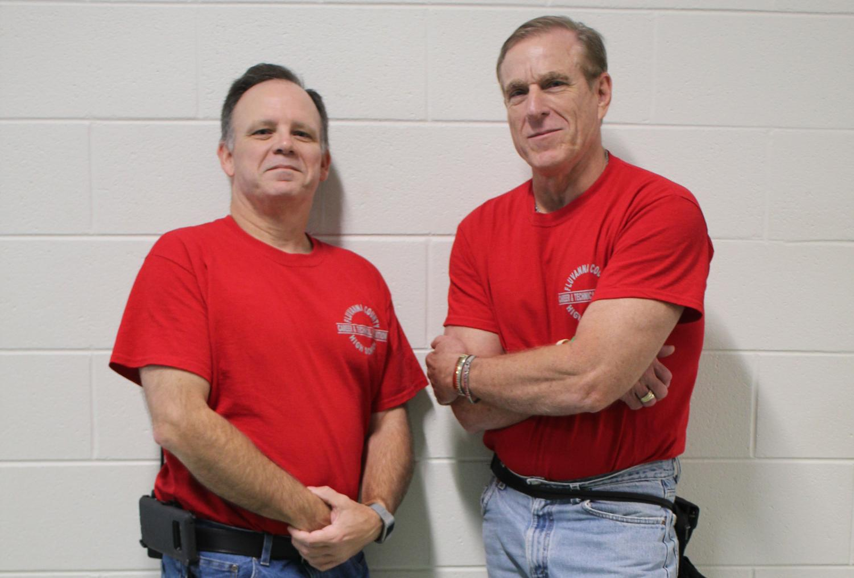 W!SE Teachers Mr. McCauley and Mr. Greenwood. Photo courtesy of Fluco Journalism