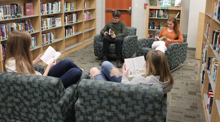 """Library """"Books"""" FCHS's Newest Club"""