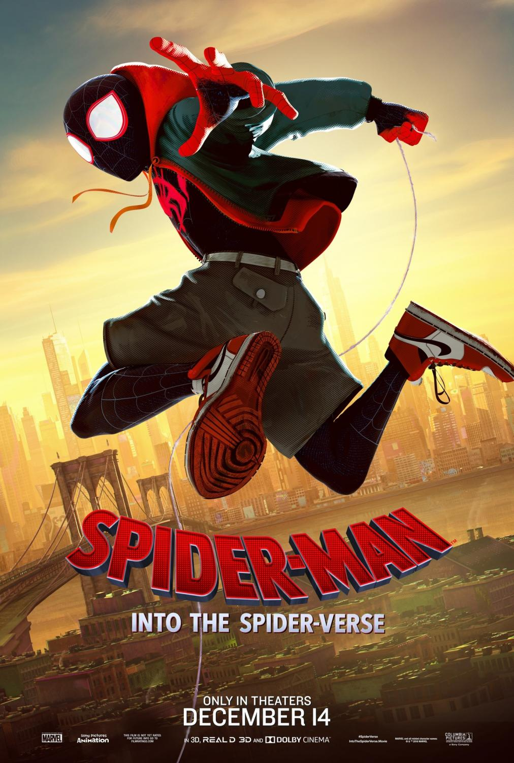 Spider-Man: Into the Spiderverse poster courtesy of IMDb, Marvel, and Sony under Creative Commons License