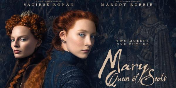 Mary Queen of Scots poster coutresy of thefullerton.co.uk and Focus Features