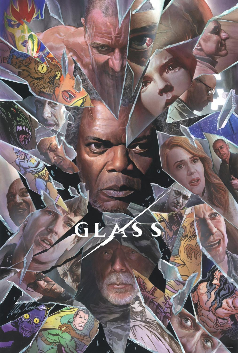 Glass poster courtesy of Blumhouse and M. Night Shyamalan