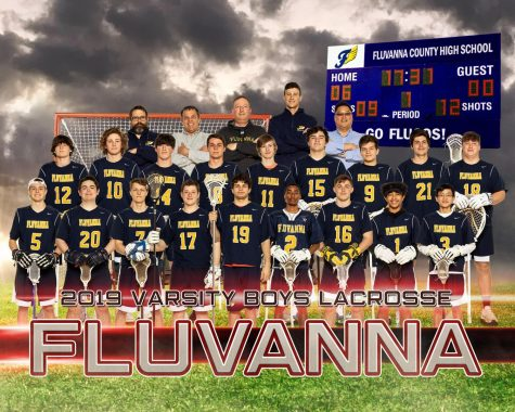 Varsity Lacrosse team photo courtesy of Kenward