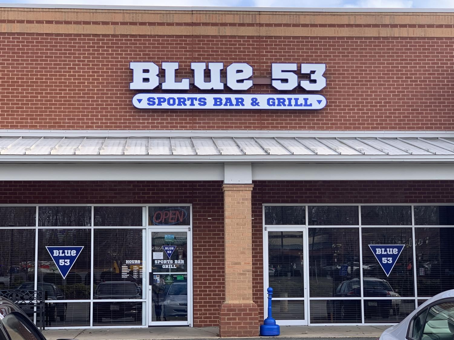 The local Blue 53 diner located at 265 Turkeysag Trail in Palmyra. Photo courtesy of FCHS Journalism.