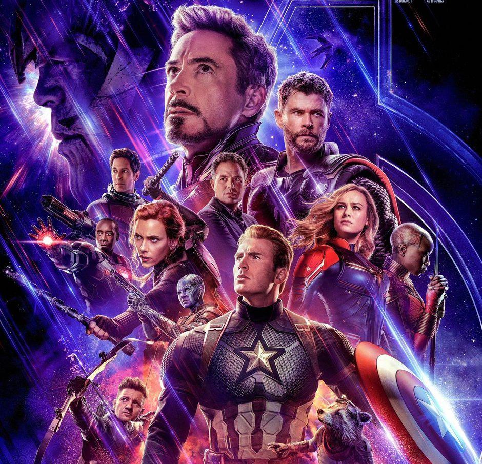 Avengers: Endgame movie poster courtesy of Marvel and CNet.
