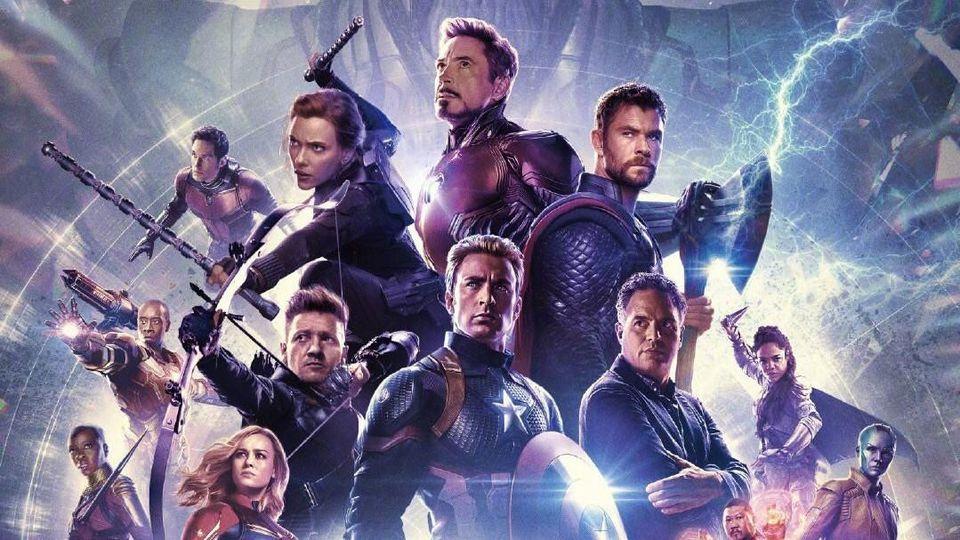 Avengers: Endgame IMAX poster courtesy of Marvel Entertainment and Disney