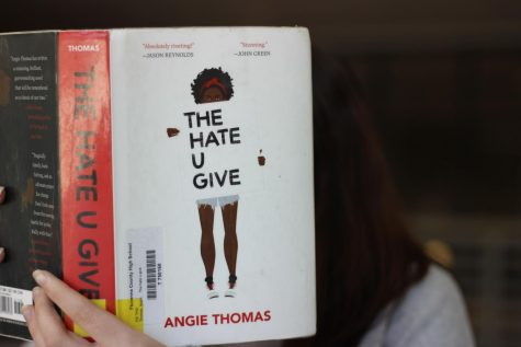 "The cover of ""The Hate U Give"""