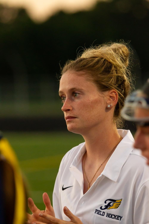 FCHS' new new field hockey coach, Karen Sible. Photo courtesy of Fluvanna Photos.