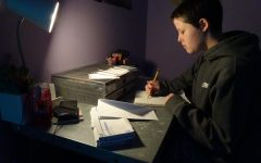 Writing a letter to COVID-19.