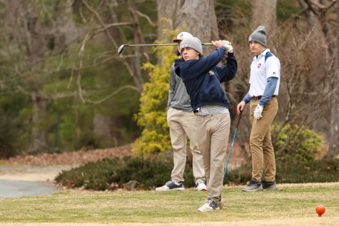 Members of the FCHS golf team at a March 17 tournament.