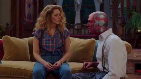 A scene from Wanda Vision.