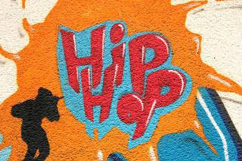 Graffiti- One of the four elements of hip hop.
