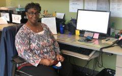 FCHS Receptionist Ethel Opie
