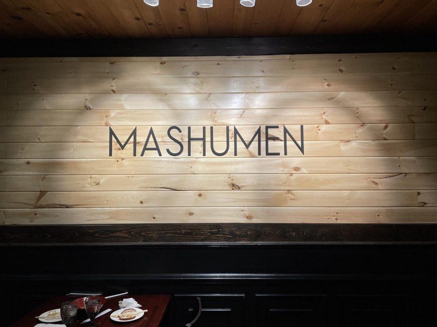 Dining Out: Mashumen Ramen Shop