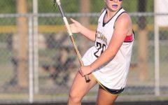 Varsity player Faith Shields